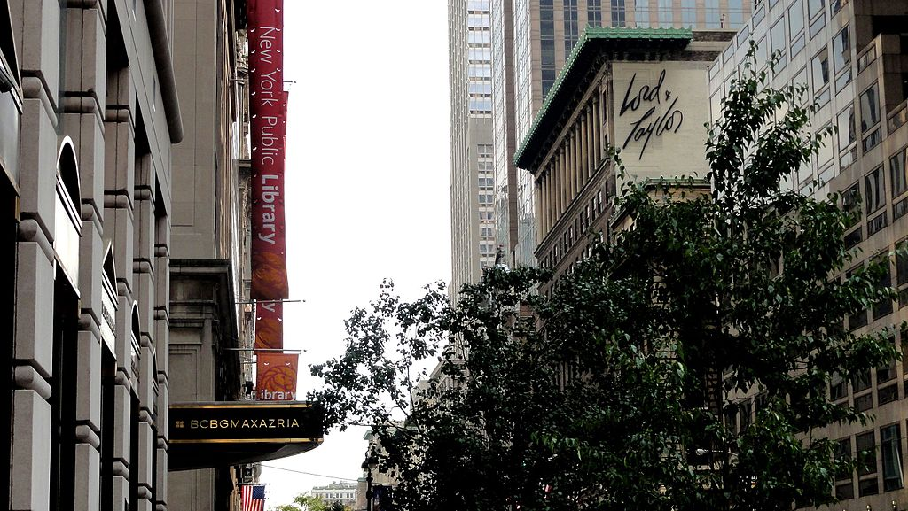 26706e0ab93 HBC has shuttered the flagship Manhattan store of its Lord   Taylor brand.  Photo by